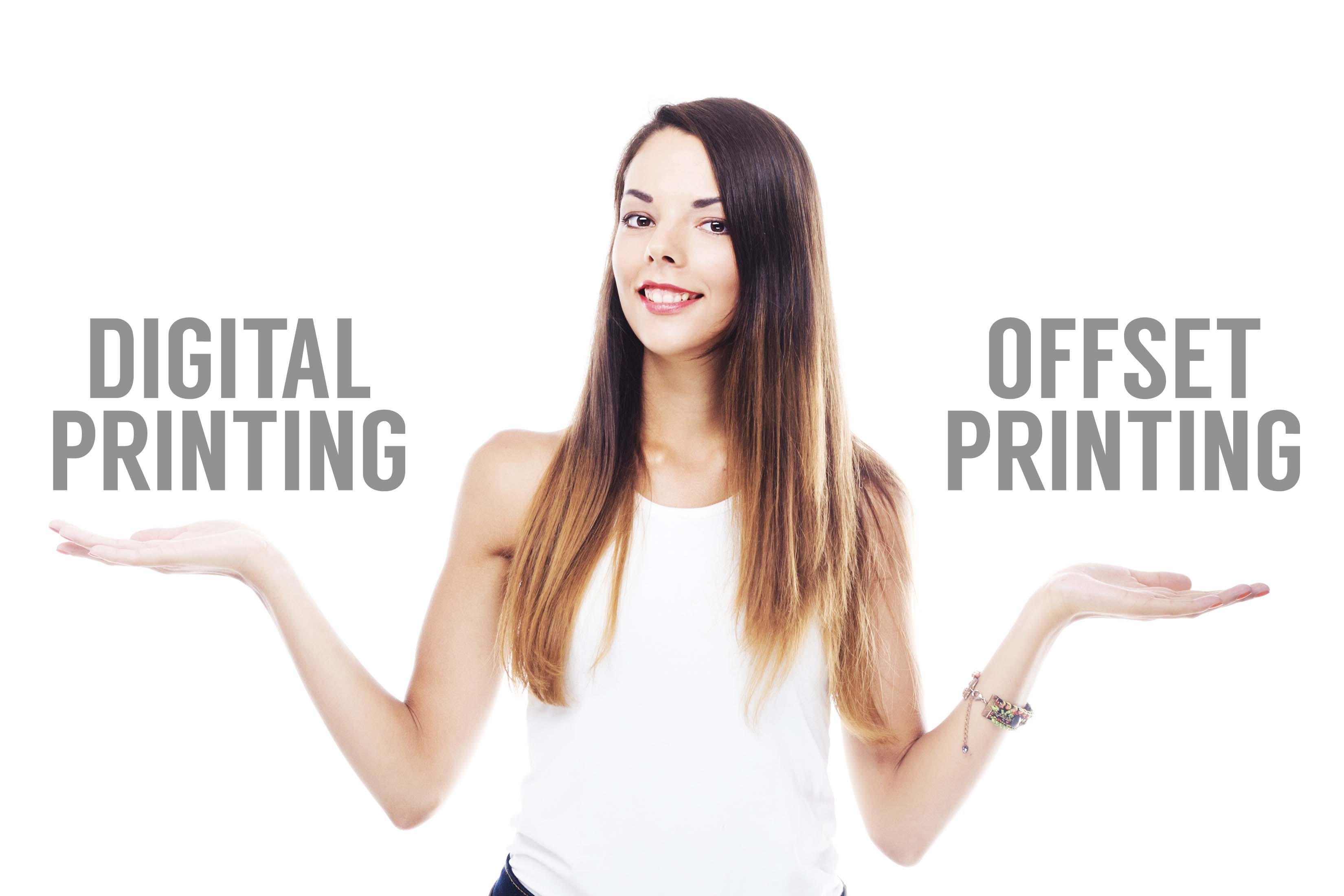 Digital or offset printing services