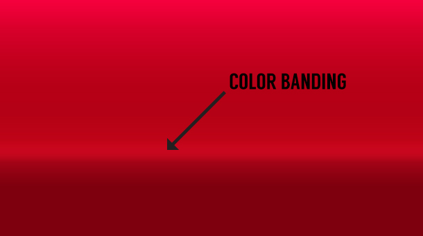 Printing Services Color Banding